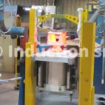 """Induction melting furnace """"Roll-over"""" type"""