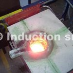 Induction melting processes