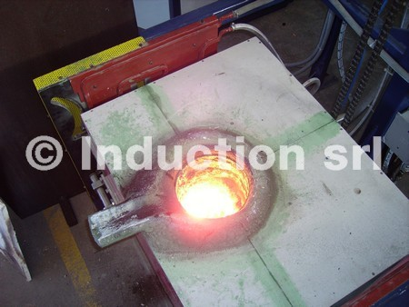 melting induction heating, melting furnace, induction melting, forno di fusione ad induzione