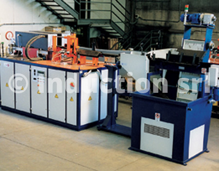 600 kW plant for steel forging with loader