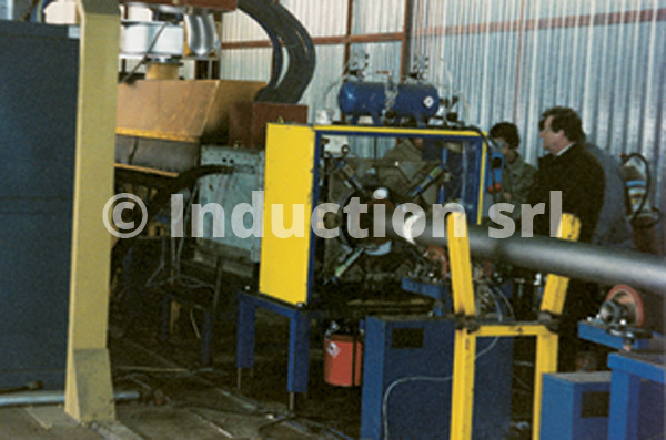 1.000 kW plant for ring extrusion coating