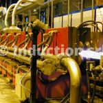 6 MW induction heating plant for stretch reducing of tubes