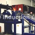 Induction heating plants for metals hot forging