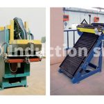 Seam annealing inductor and rolling shutter loader