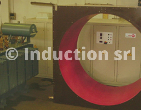 Inductor for tubes industry