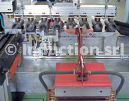Induction automatic annealing plant