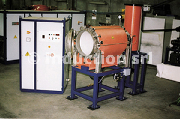 Vacuum heat treatments plant