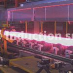 Induction heating for high speed steel lamination