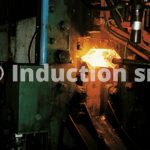 Induction heating for metals hot forging