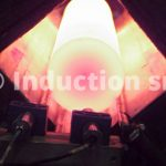 Induction heating of steel billets for forging