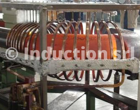 Elbow productions by induction heating plants