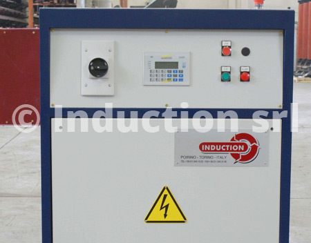 50 kW IGBT converter for induction heating