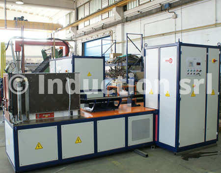Induction heating plants for metals hot & warm forging