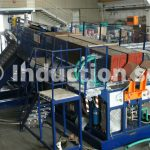 1600 kW induction heating plant for metals hot forging