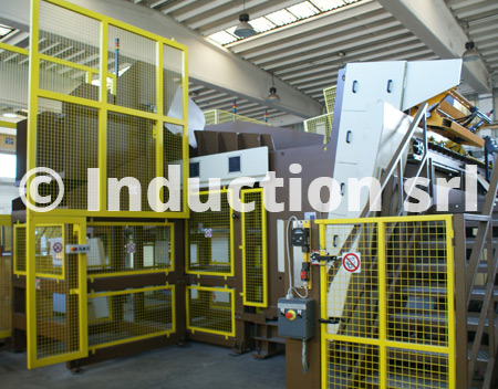 Automatic loading system for 5 MW hot forging line