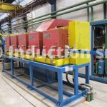Inductors set for hot rolling plant
