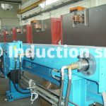 Inductors set for induction heating plant