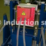 Induction melting furnace for laboratory