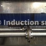 Induction heating plants for metals heat treatments