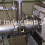 Induction heating equipments in controlled atmosphere
