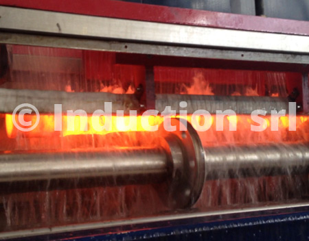 Induction heating plants for tubes and bars heat treatments