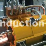 Hot cutting line with flying shear