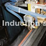 Induction heating plant for seam annealing of tubes