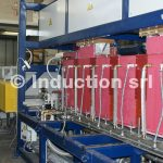 Induction heating for springs production