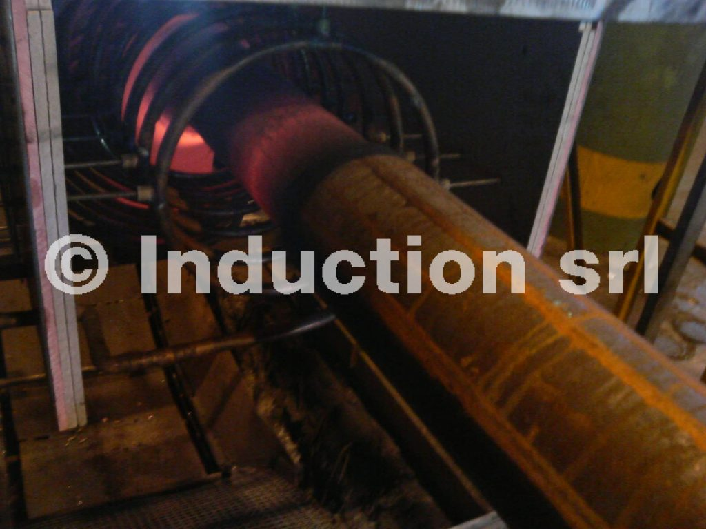 Induction heating plants for elbows production