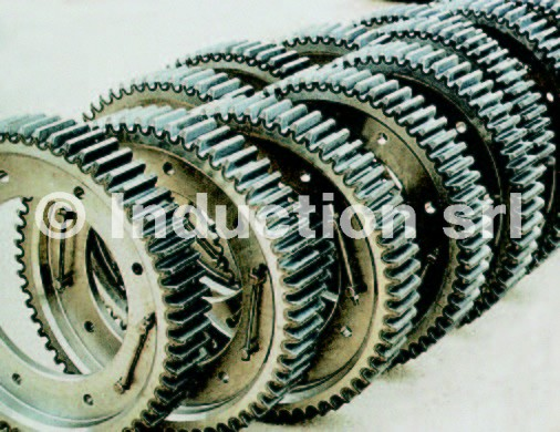 iindeuction heat treatment wheels