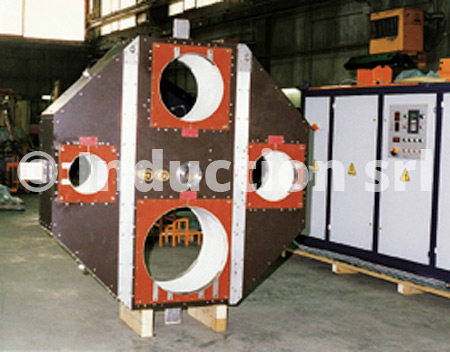 pipe induction heating