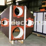 Multi-diameter heating coil for coating