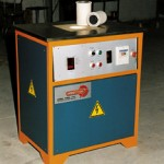 Induction melting furnace for precious and non-ferrous metals melting