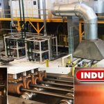 Induction hardening and tempering line for tube and bars