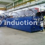 2500 kW induction heating plant for hot forging
