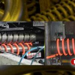 induction heating systems for springs