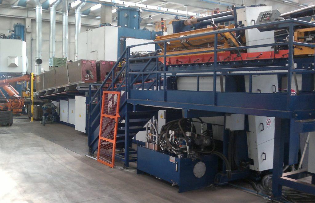 équipements par induction de lopins acier