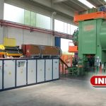 1200 kW complete induction heating plant for hot forging
